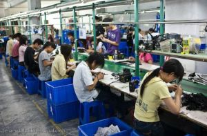 china-factory-line